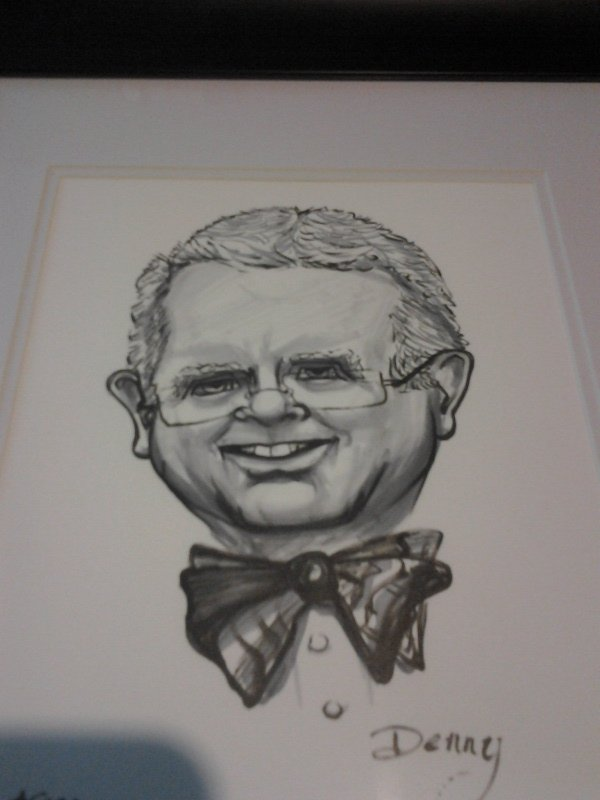 Caricature of Denny Allen