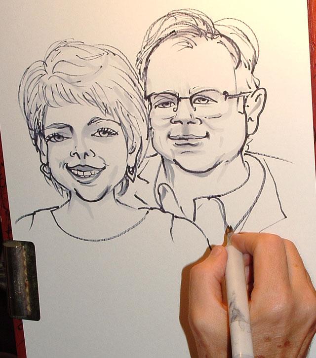 John F. Bush and Mrs Bush
